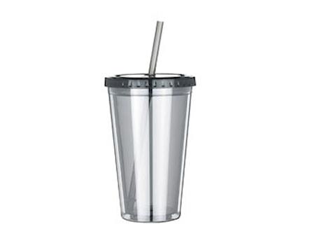 Drickflaska m sugrör 50cl