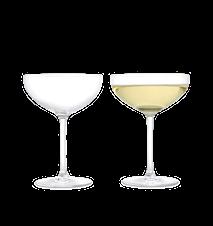 Premium Champagneskål 39 cl klar 2 st.