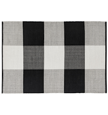Snowdrop matta – Black/off white