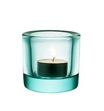 Kivi ljuslykta 60mm vattengrön /presentfrp