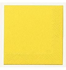 Servettejä 24 cm 3-kerroksinen Keltainen 20 kpl