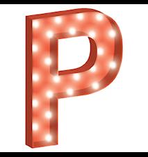 Cirkuslampan liten - P