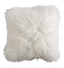 Lamb fur kuddfodral inkl. innerkudde