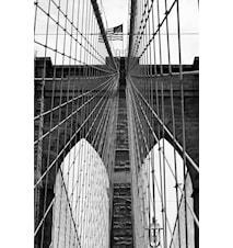 New York Bridge 2 Poster