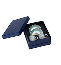 Samarkand Aquamarin Espresso Set 4pcs