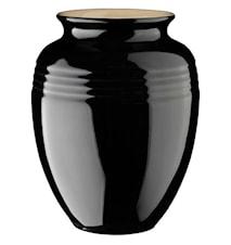 Vas 19 cm - Black