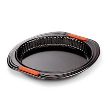 Piirakkavuoka 28 cm Black