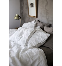 Lovely linen heaven sengetøy – Seashell white