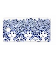 Smörgåsbricka, Rosalinde, blå, 20x40 cm