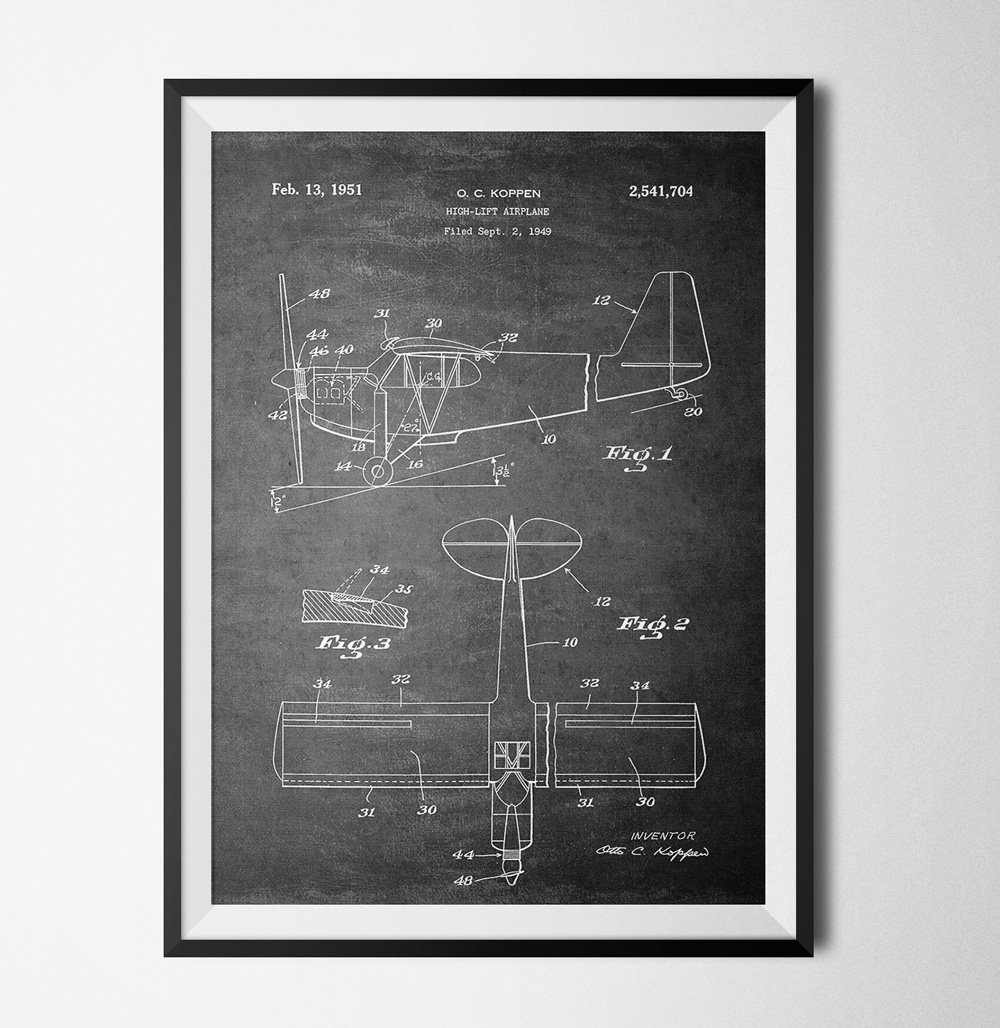 50 Patent poster - 40x60