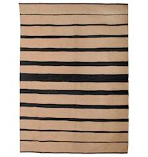 Roppongi black handvävd matta