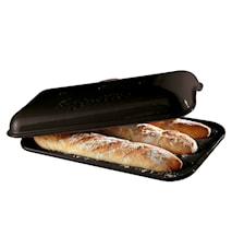 Baguetteform med lokk