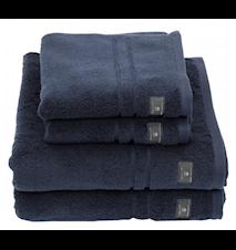 Premium Terry Ansiktshåndkle 30X50 Sateen Blue