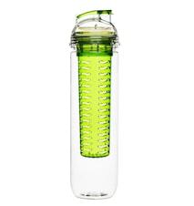 Fresh flaska med fruktkolv grön