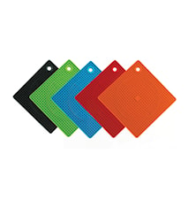 Grytlapp / Grytunderlägg i silikon - Orange