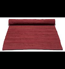 Cotton matta - Rosewood red