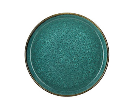 Tallerken Ø27cm grønn/grønn Bitz