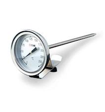 Fritöstermometer, 0-300°C Rostfritt