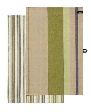 Iittala Origo Kökshandduk 47x70 cm grön twin