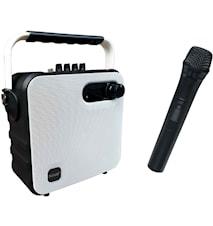 BT-högt m. Mikrofon + batteri