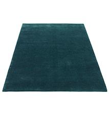 Earth Handvävd matta - sjögrön