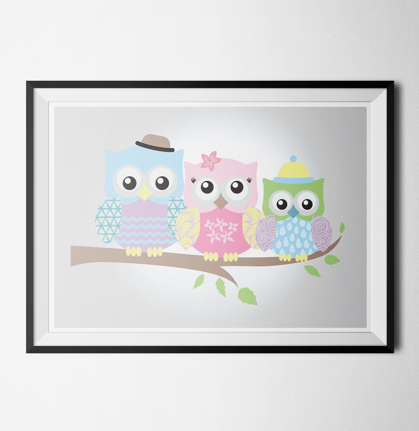 Happy owls 1 poster