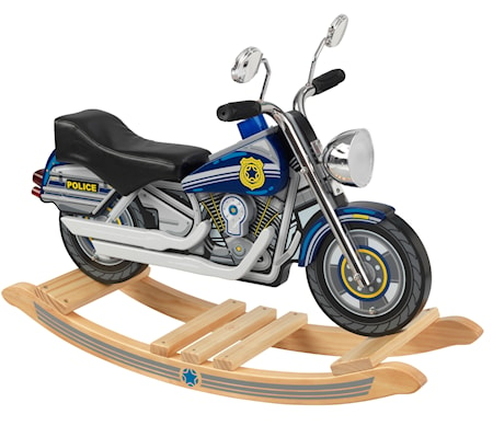 Rocking police motorcycle