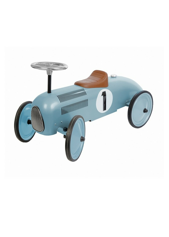 Classic metal racer baby blue