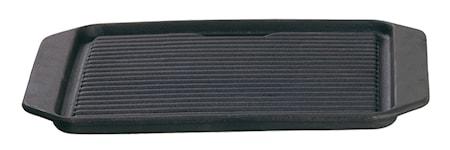 Grillplatta gjutjärn 23x29 cm