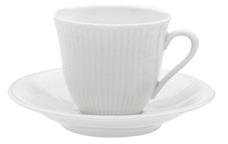 Swedish Grace kaffekopp 16 cl snö