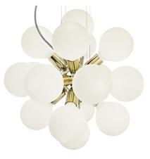 Lux mässing white taklampa