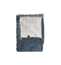 Pläd Hannelin silence/white 130x170