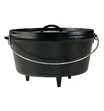 30.48 cm / 7.57 liter Deep Camp Dutch Oven,
