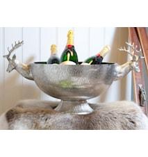 Stag bowl large- Champagneskål
