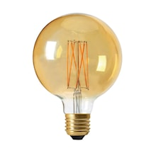 Elect LED Filament Globe 125mm, 2,5W E27