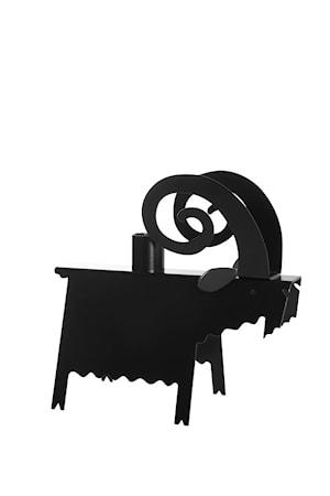 Ljusstake Bock svart