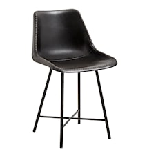 Nordal läder stol - svart