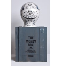 The money box porslin handmade serigraphy