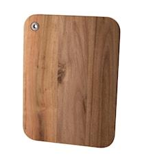 Skärbrada akascia trä fyrkantig 37*28 cm