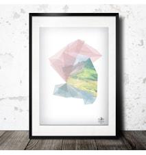 Nordic geometry poster - 40x60