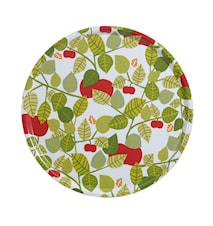 Apple Bricka Grön Rund Ø 45 cm