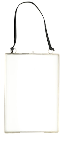 Madam Stoltz Ripustettava Valokuvakehys 15×21 cm – hopea
