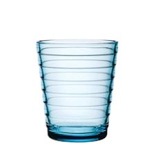 Aino Aalto glas 22 cl ljusblå 2-pack