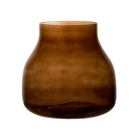 Bild av Bloomingville Vas Glas Brun 20x19,5 cm