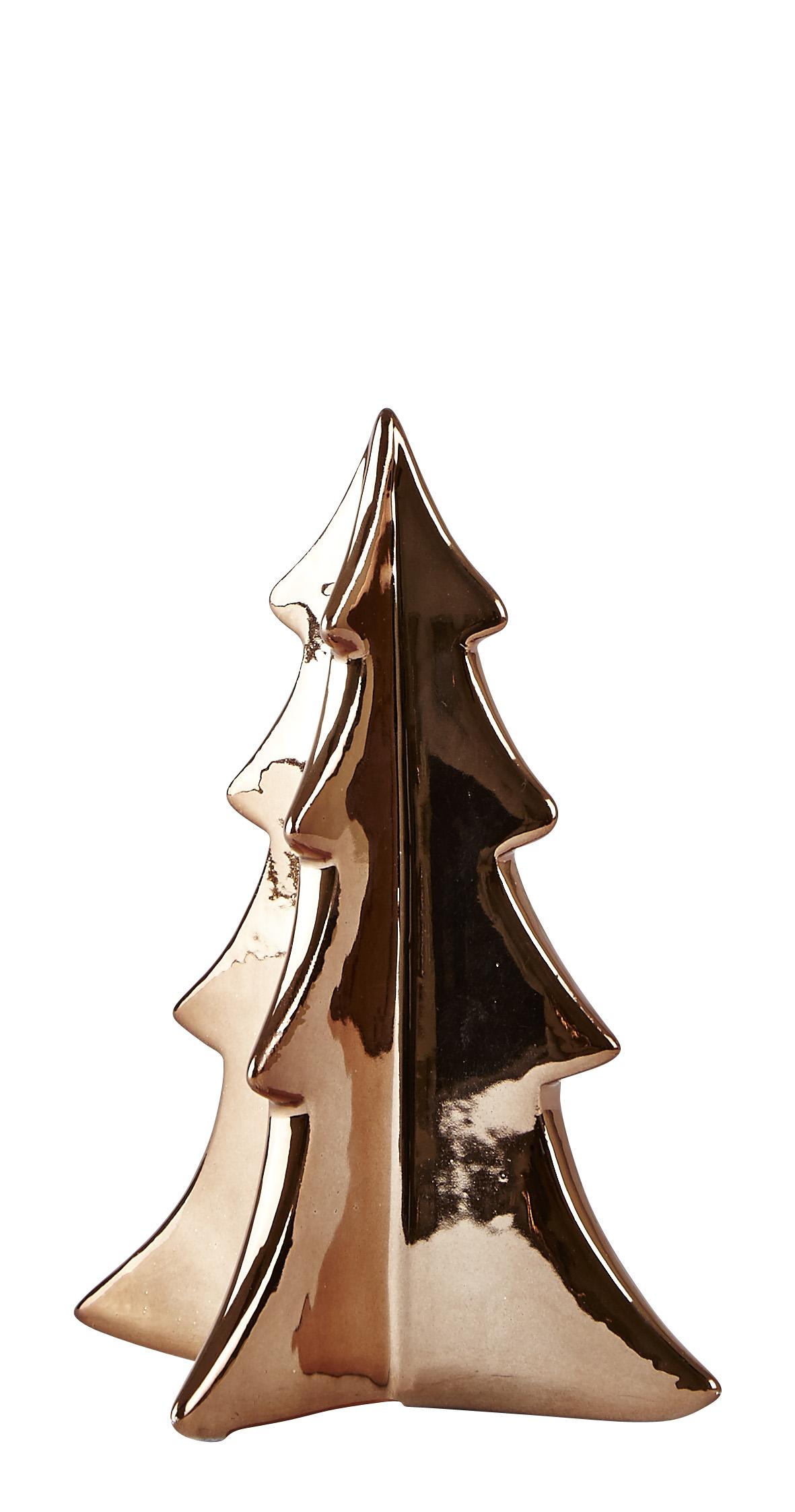 Figur Keramik Brons 17 cm