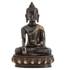 Buddha L 25 cm - Svart
