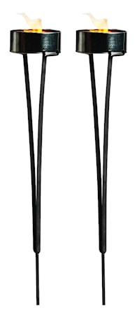 Marschallholdere 2 pak, sort metal