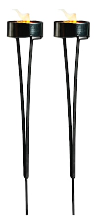 Marschallhållare 2 pack, svart metall