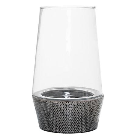 Bild av Bloomingville Lanterna Grå Keramik 19,5x33cm