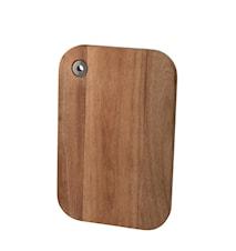 Skærebræt akaciatræ firkantet 28*18 cm